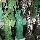 Rows and Rows of Lady Liberty by Jane Neill-Hancock