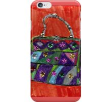 Pop Art Purse  iPhone Case/Skin