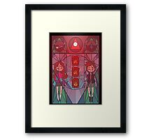 Abnormal Will Soon Be The Norm Framed Print