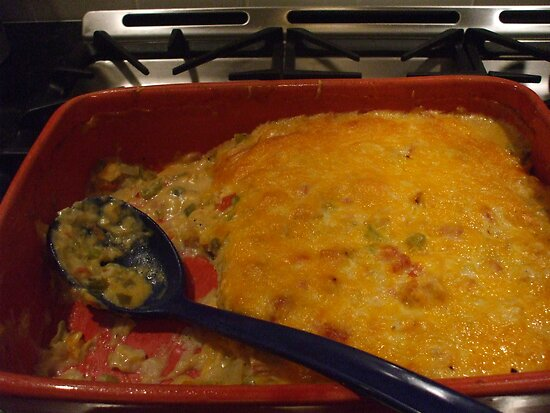 KING RANCH CHICKEN  ( recipe posted ) by artist4peace
