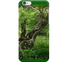 Haunted Twisted Tree Behind Ringwood Manor - natural iPhone Case/Skin