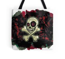 camouflage  zombie skull Tote Bag