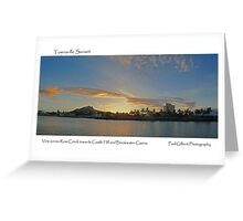 Townsville Sunset Greeting Card