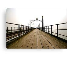 Pier Review Canvas Print