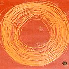 Abstract African sun by cedelle lochner