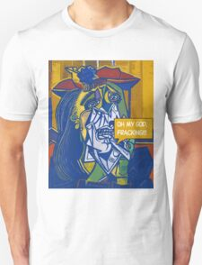 OH MY GOD, FRACKING(C2015) Unisex T-Shirt