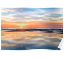 Sunset Hues Poster