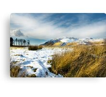 Blencathra - Lake District - Cumbria Canvas Print