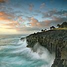 Sunrise Fingal Head by Annette Blattman