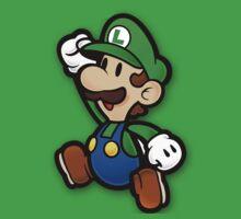 Custom Paper Mario Luigi Shirt T-Shirt