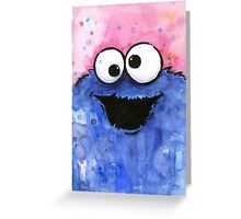 Cookie Monster Greeting Card