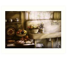 A 1930's Kitchen Art Print
