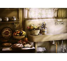 A 1930's Kitchen Photographic Print