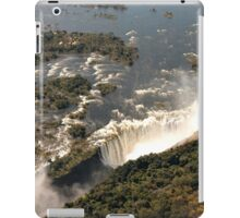 Magnificent Victoria Falls from the Air iPad Case/Skin