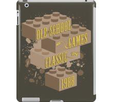 Old School Games - Classic iPad Case/Skin
