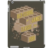 Old School Games - Classic iPad Case/Skin
