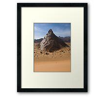 The Towering Marib Desert - Yemen Framed Print