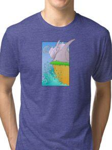 stone sea Tri-blend T-Shirt