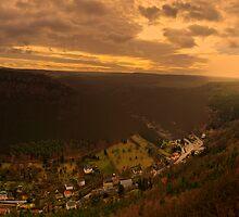 Koenigstien, Saxony by Senthil Nath G T