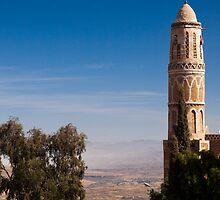 Minaret - Yemen by Lisa Germany