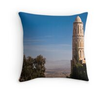 Minaret - Yemen Throw Pillow