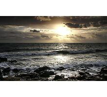 Sunset at Black Rock Photographic Print