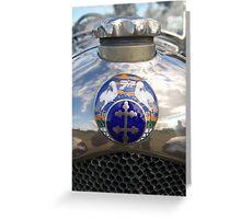 Radiator reflections Greeting Card