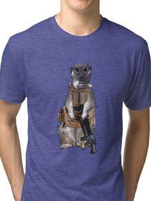 Meerkat Liberation Army Tri-blend T-Shirt