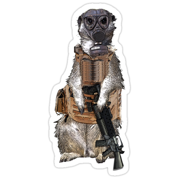 Meerkat Liberation Army by Malkman
