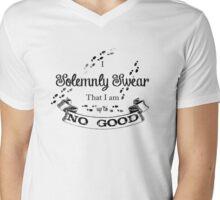 I Solemnly Swear That I'm up to no Good Mens V-Neck T-Shirt