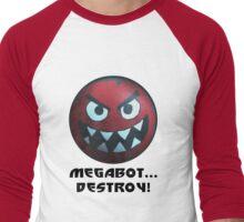 Big Hero 6 Megabot Shirt Men's Baseball ¾ T-Shirt