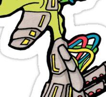 Robot Dude Sticker