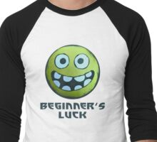 Beginner's Luck Men's Baseball ¾ T-Shirt