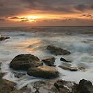 Dawn over South Shore by Lucy Hollis