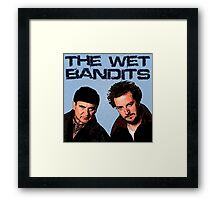Home Alone Wet Bandits T Shirt Framed Print