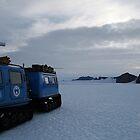 Hugglunds Vehicle Antarctica by Adam Wightman
