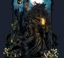 Bloodborne - The Hunt by ellipticleaf