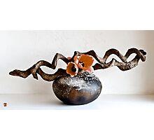 Ikebana-106 Photographic Print