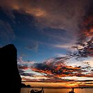 Railay Sundowner by morealtitude