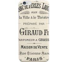 Historical Victorian Perfumer iPhone Case/Skin