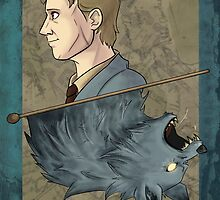 Remus Lupin Playing Card by imaginativeink