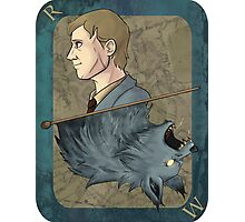 Remus Lupin Playing Card Photographic Print