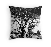 outback boab Throw Pillow