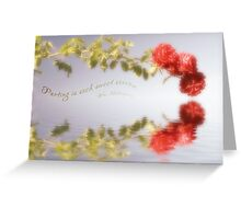 Dreamy Roses Greeting Card