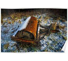 Abandoned Roller Poster