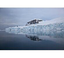Deville Glacier Photographic Print