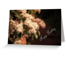 Chinese Photinia Greeting Card