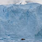 Explorers and iceberg by David Burren