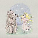 The bear and the lady fair by Jellyscuds