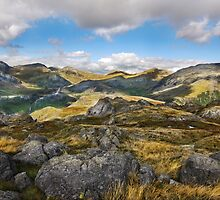 Hardknott - Lakeland Fells - Cumbria by eddiej